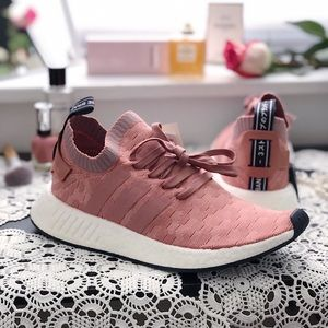 Adidas NMD R2 PK Sneakers Size 9.5 Pink New